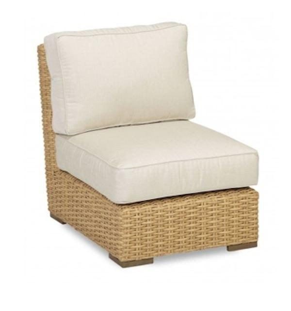 Leucadia Armless Club Chair by Sunset West Life on Plum