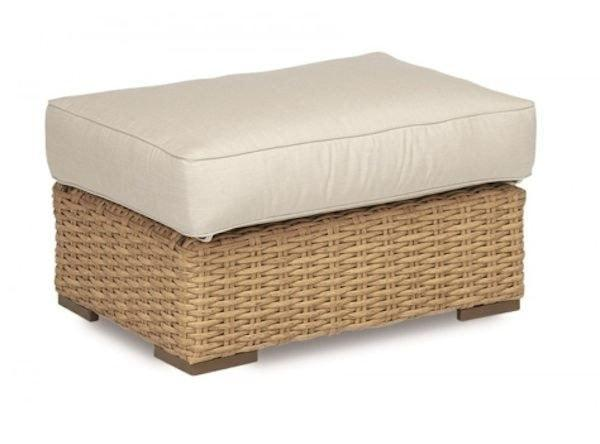 Leucadia Ottoman by Sunset West Life on Plum