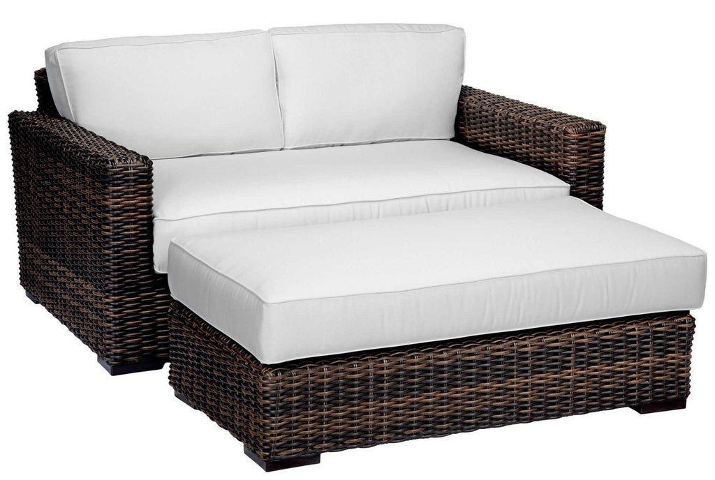 Montecito Double Chaise by Sunset West Life on Plum