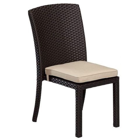 Solana Armless Dining Chair by Sunset West Life on Plum