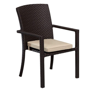 Solana Dining Chair With Arms by Sunset West Life on Plum