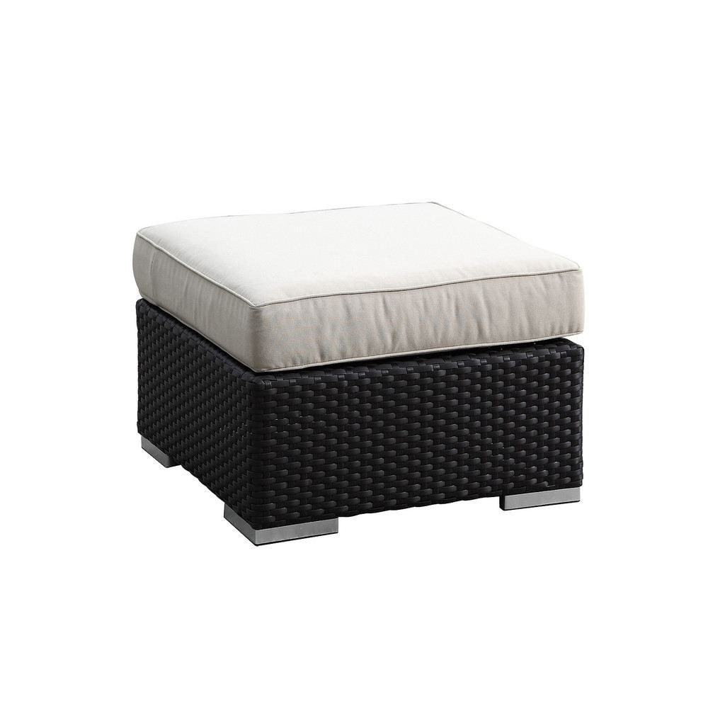 Solana Ottoman by Sunset West Life on Plum