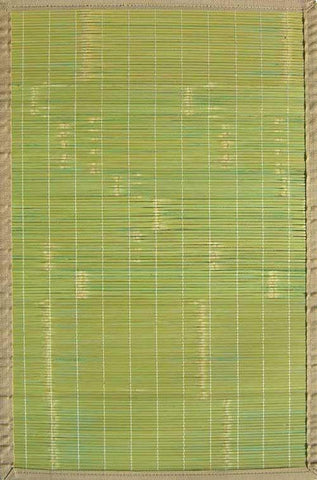 Key West Bamboo Rug Life on Plum