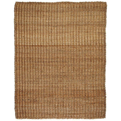 River Sand Jute Rug Life on Plum