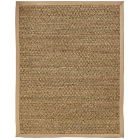 Image of Sabertooth Seagrass Rug Life on Plum