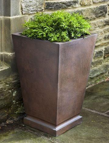 Campania International Westmere Planter in Rust Lite Life on Plum