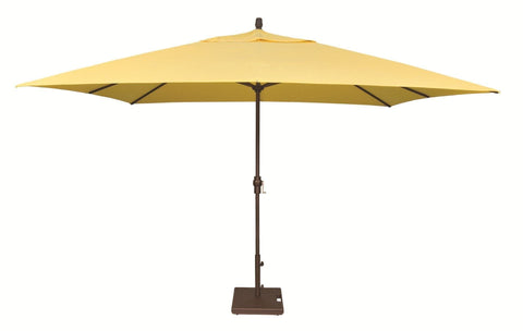 Image of Treasure Garden 8ft x 11ft Aluminum Crank Lift Umbrella Life on Plum