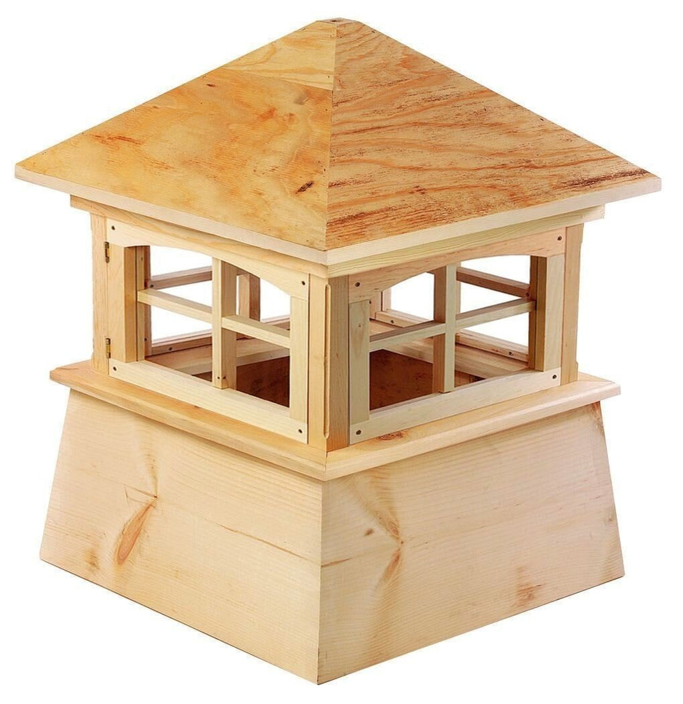 Good Directions Brookfield Cypress Wood Cupola 72 inches x 101 inches