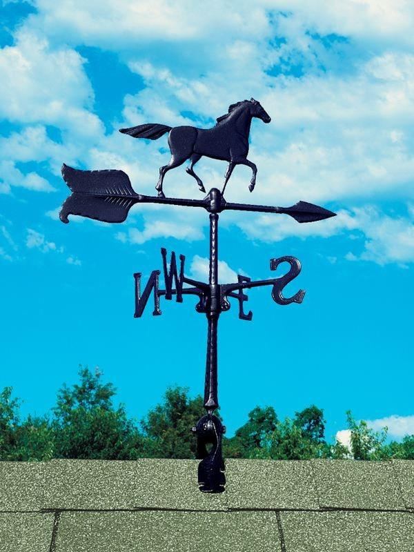 24-inch Horse Accent Weathervane By Whitehall Products Life on Plum
