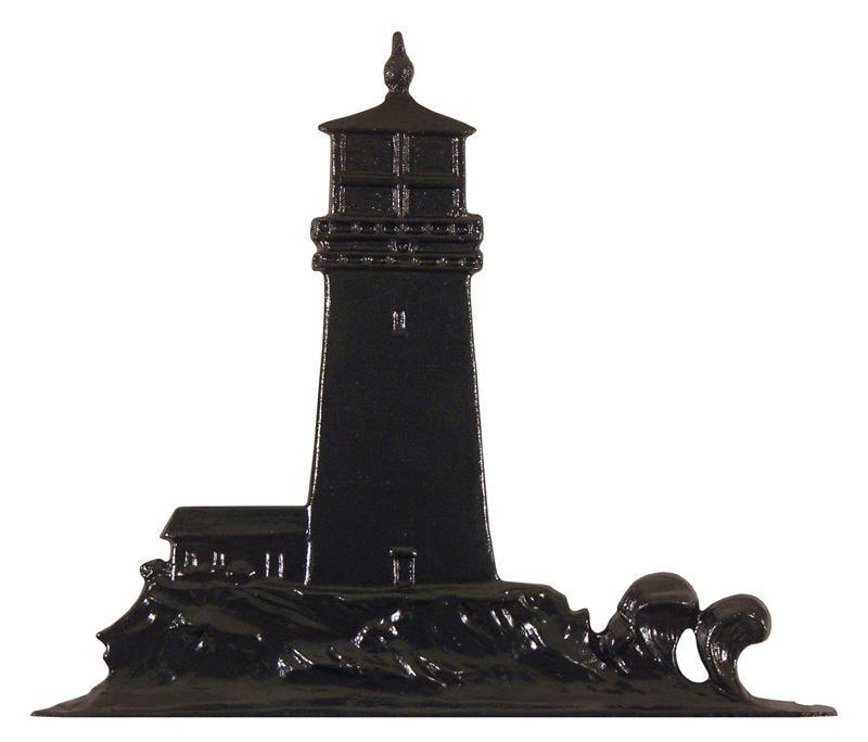30-inch Lighthouse Garden Weathervane By Whitehall Products Life on Plum