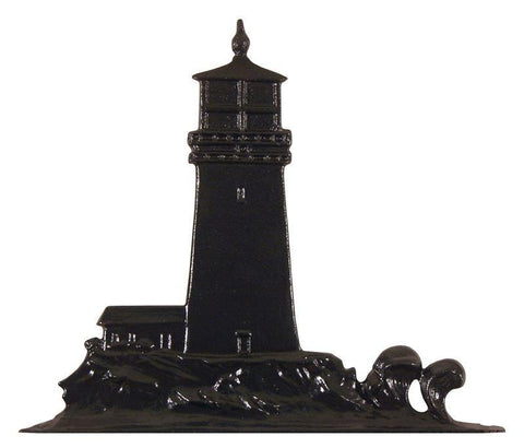 Image of 30-inch Lighthouse Garden Weathervane By Whitehall Products Life on Plum