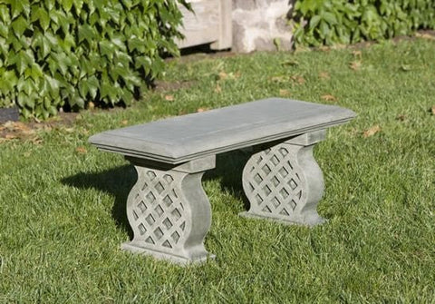 Image of Campania International Williamsburg Latticework Bench - Life onPlum - 1