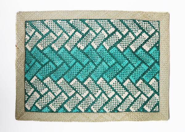 Woven Placemat - Green