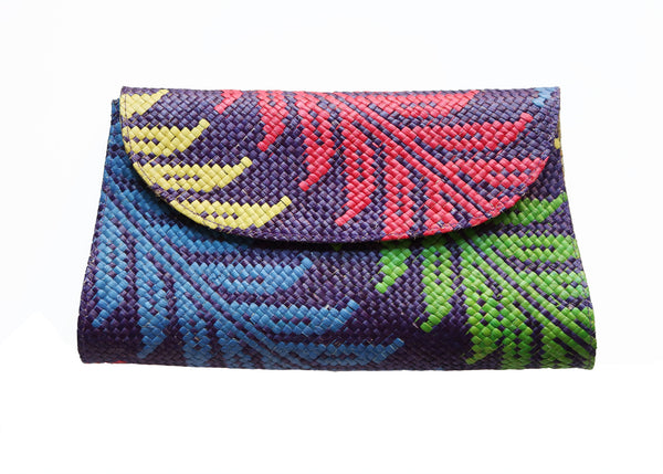 Boho Clutch - Purple