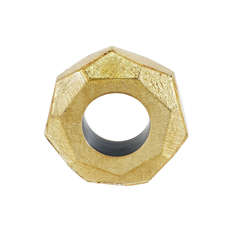 Golden Resin Ring