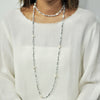 Multicolored Crystal Necklace w/ Cultured Pearls