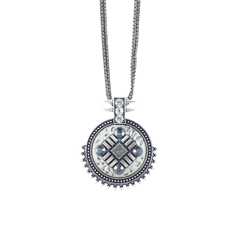 Silver Plated Necklace w/ Pendant