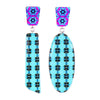 Asymmetrical Pattern Earrings