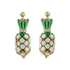 Crystal Pineapple Earrings