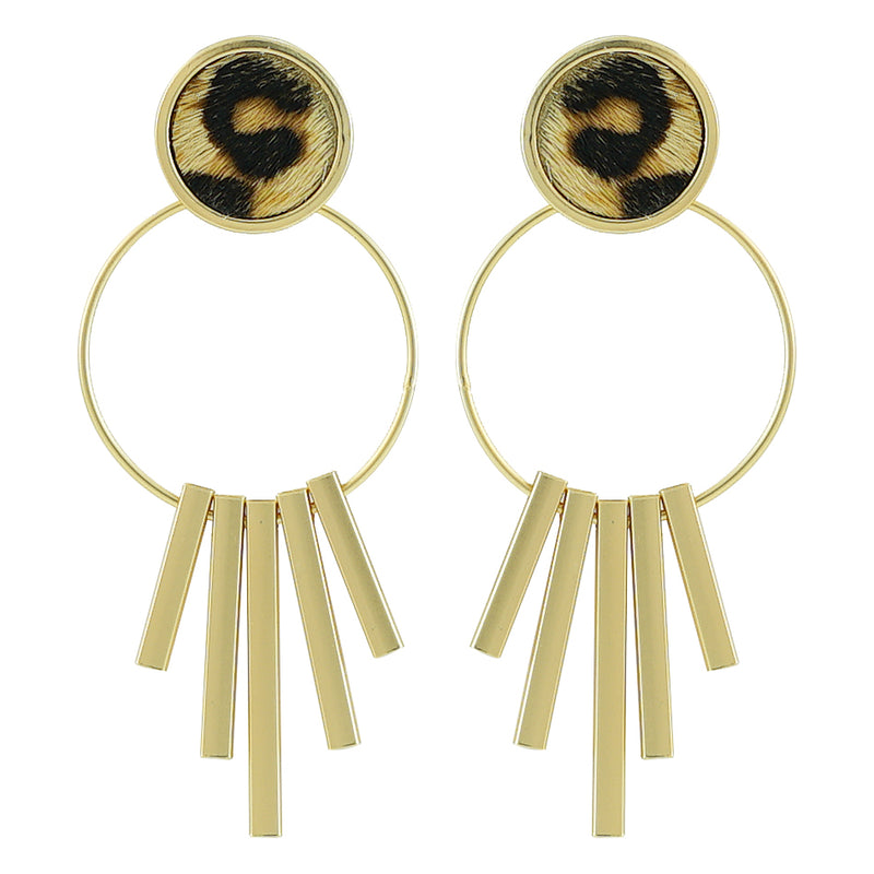 Golden Earrings w/ Pattern