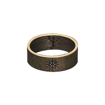 Bronze Snowflake Ring