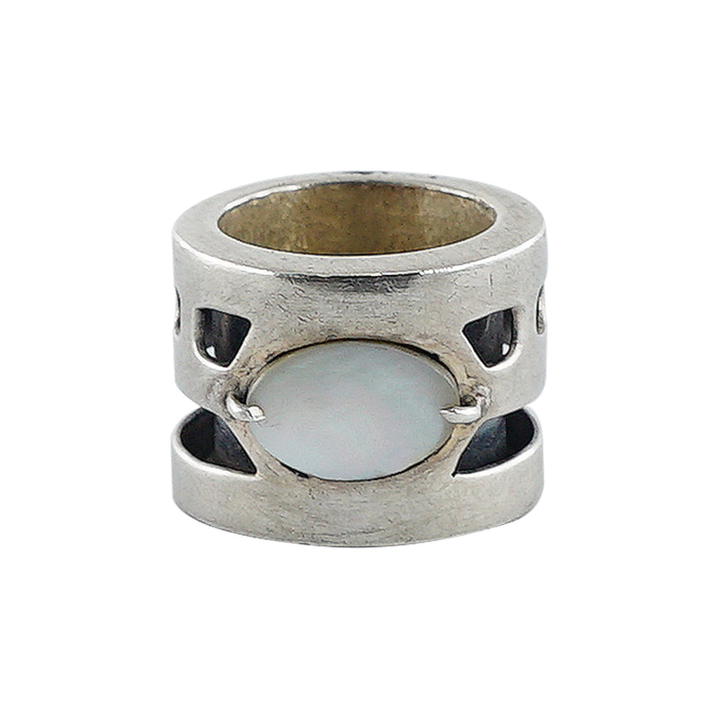 Sterling Silver Ring w/ Mother of Pearl