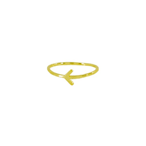 Golden Arrow Ring
