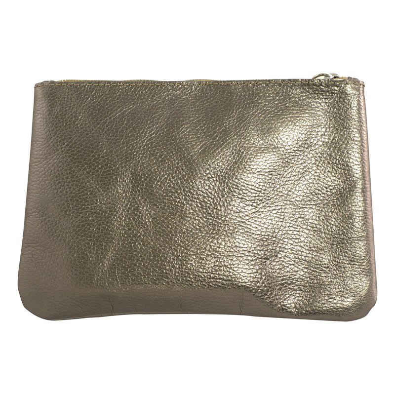 Brass Leather Handbag