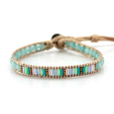 Brown & Light Blue Bracelet