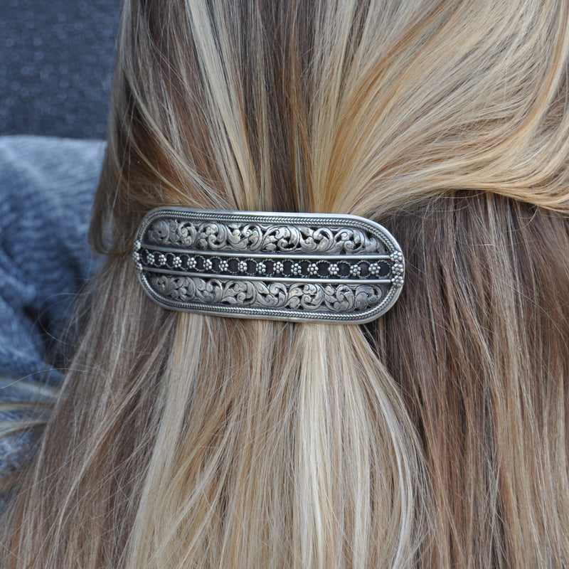 Sterling Silver Hairclip
