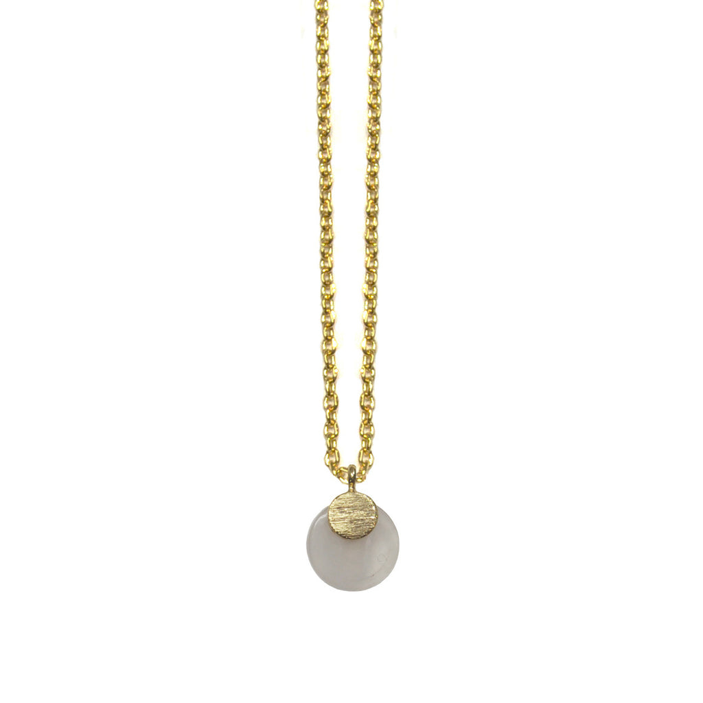 Gold Necklace with Pendant
