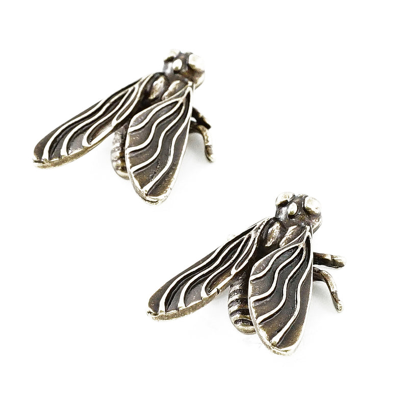 Brass Bug Earrings