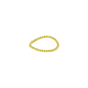 Wavy Golden Ring