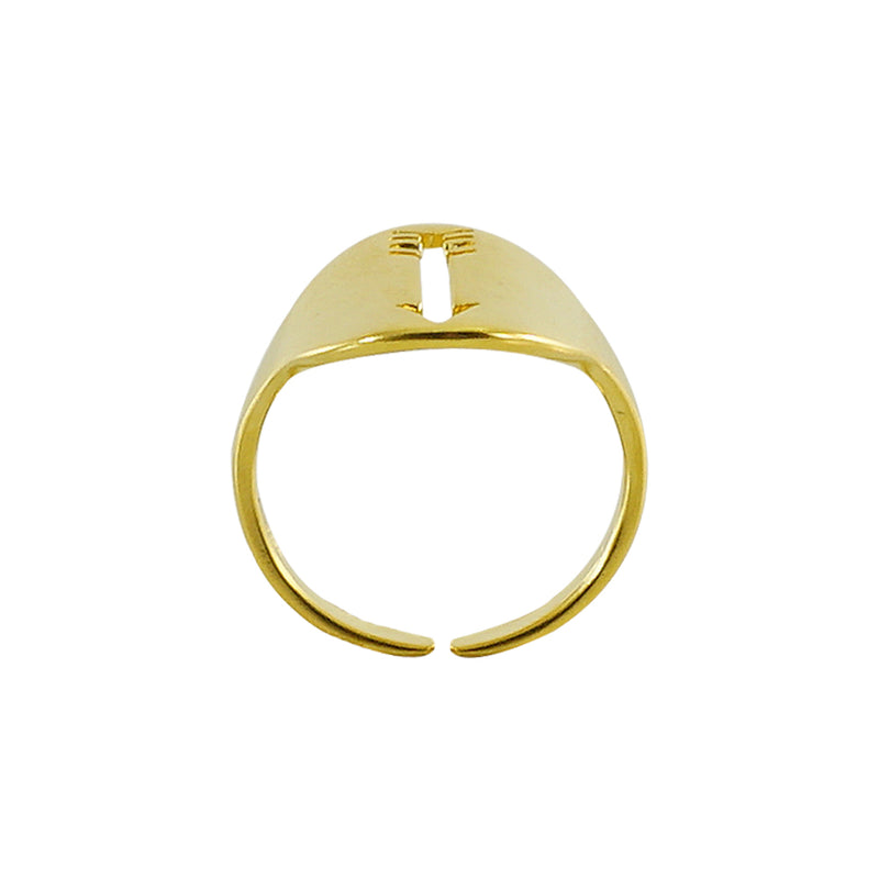 Golden Ring w/ Arrow