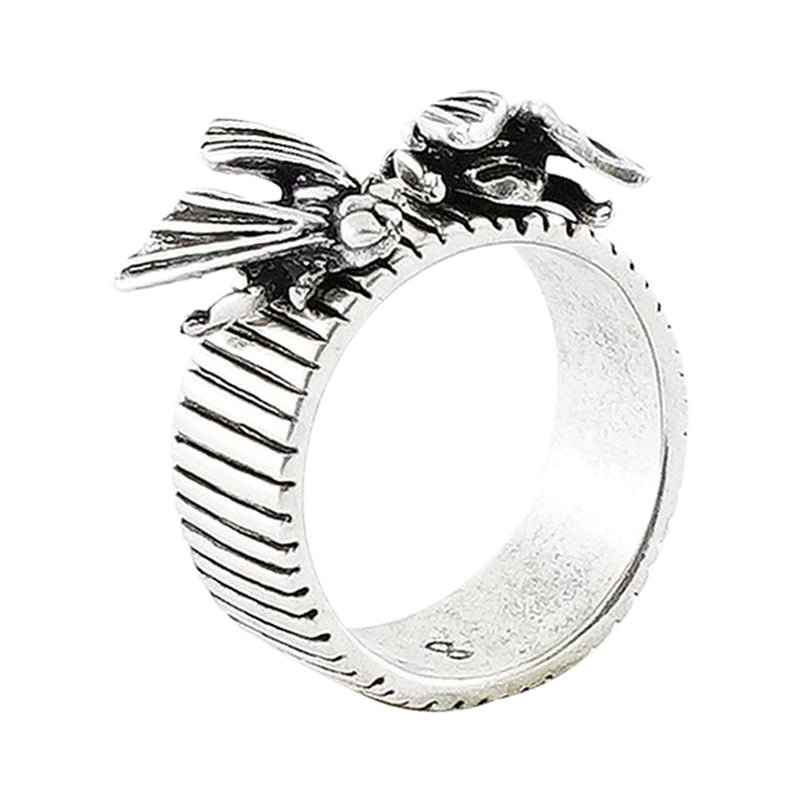 Silver Plated Ring w/ Bugs
