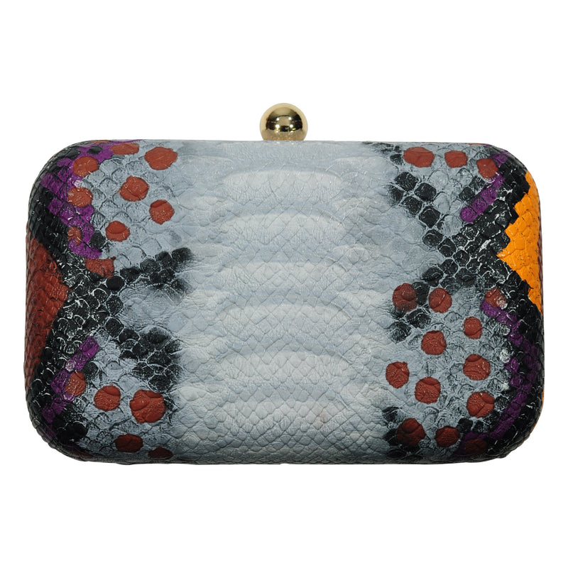 Purple & Orange Cobra Clutch