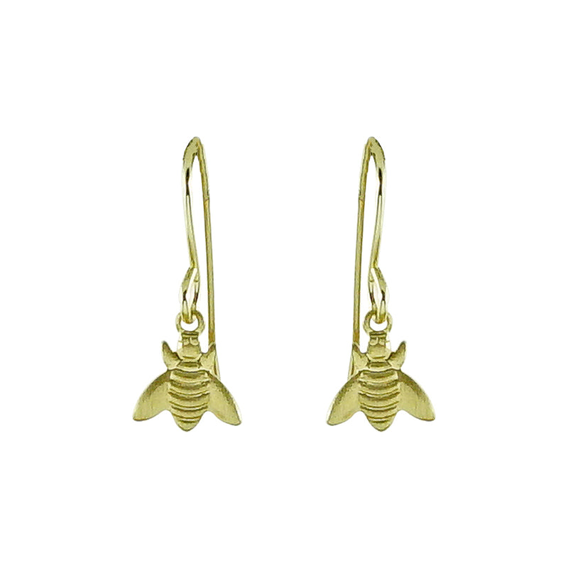Golden Bug Earrings