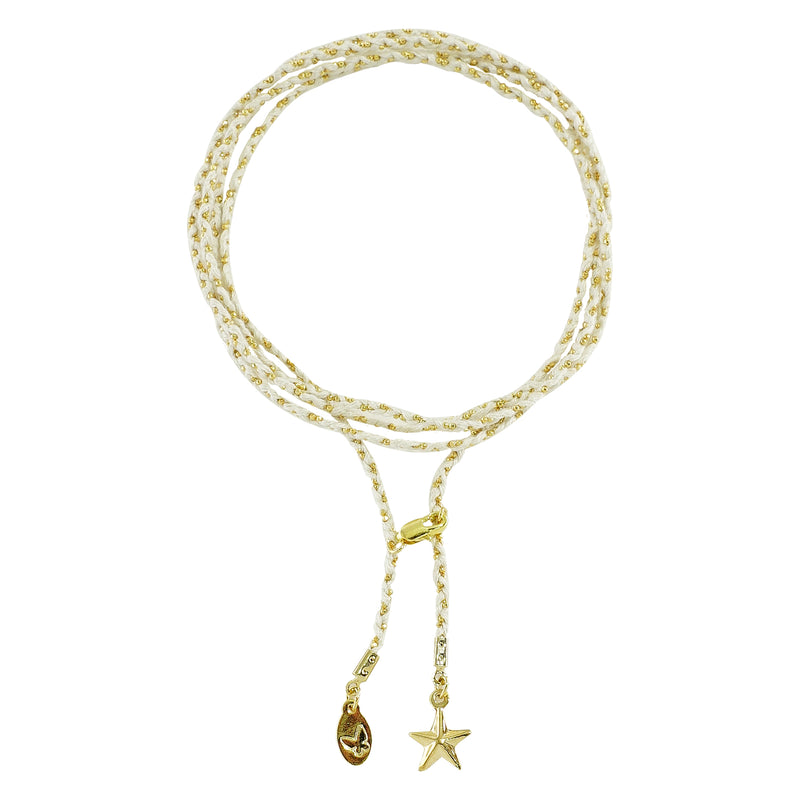 White & Golden Bracelet