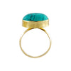 Golden Ring w/ Turquoise Stone