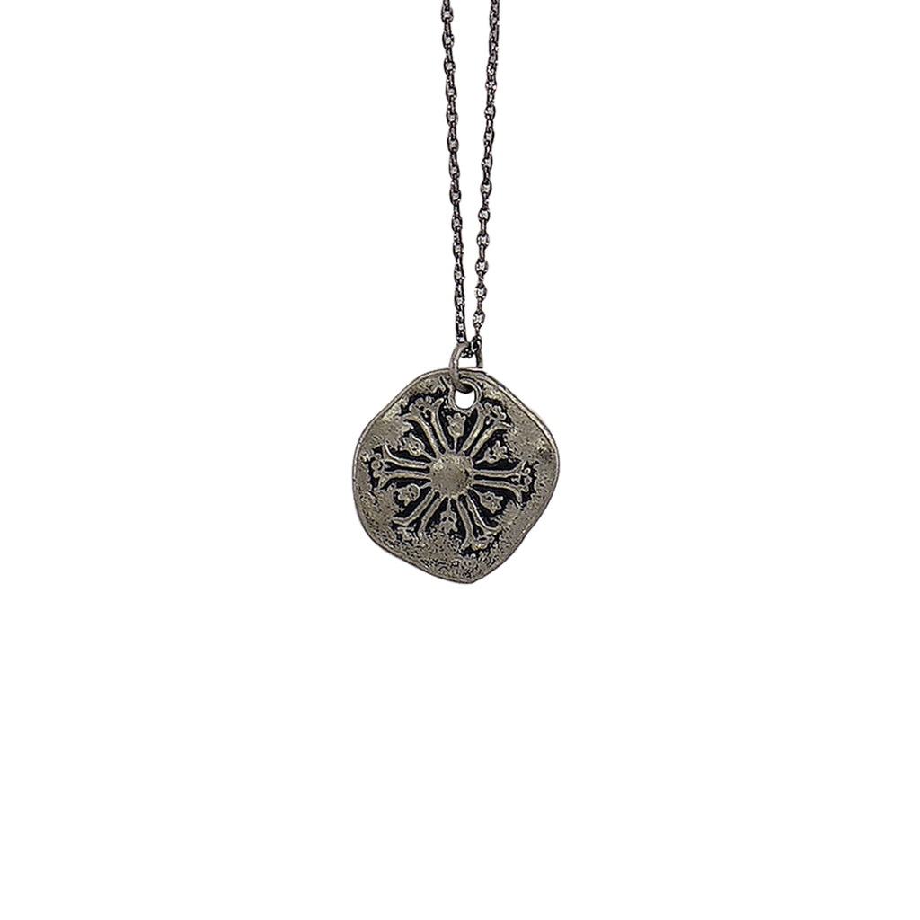 Gunmetal Necklace w/ Pendant