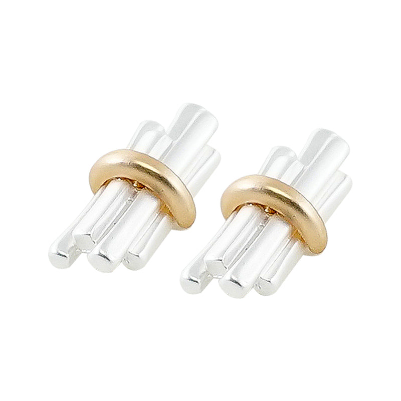 Silver & Golden Earrings