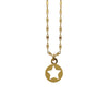 Golden Necklace w/ Star Pendant