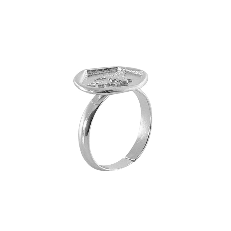 Silver Bug Ring