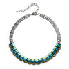 Multicolored Crystal Necklace