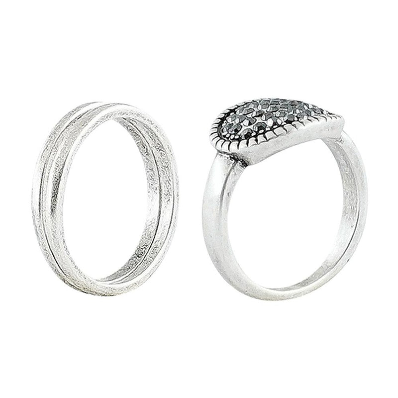 Silver Plated Rings