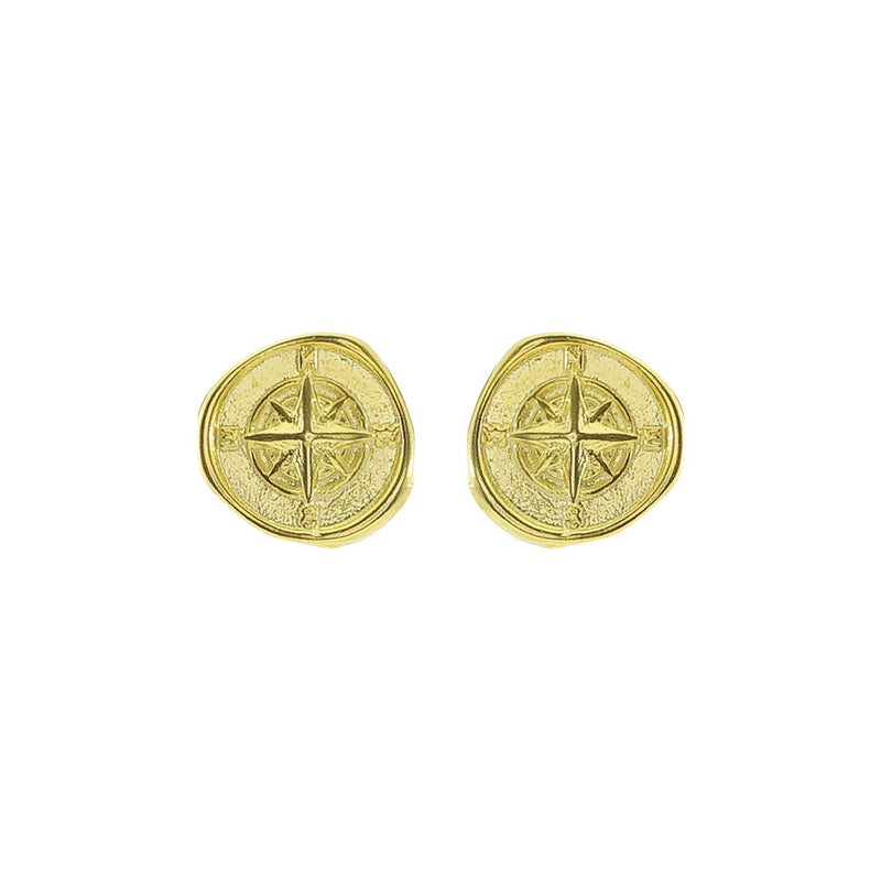 Golden Compass Earrings
