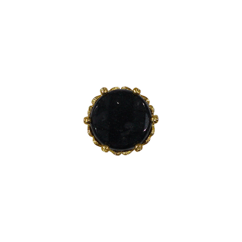 Golden Ring w/ Black Stone