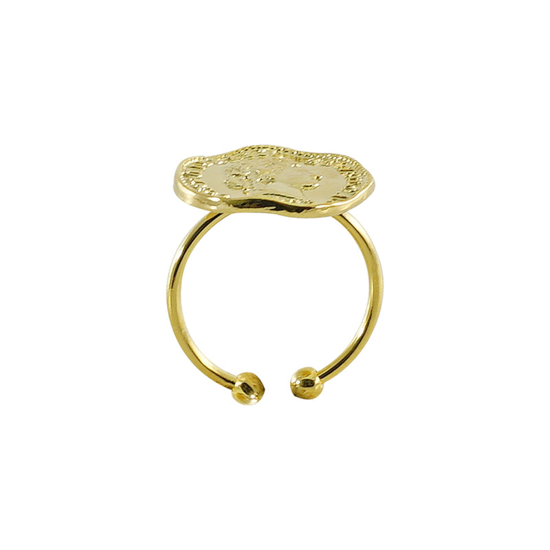 Engraved Golden Ring