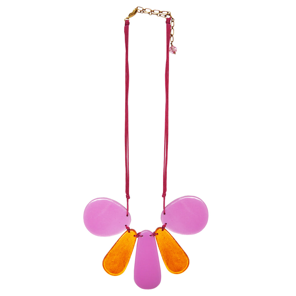 Pink & Orange Necklace