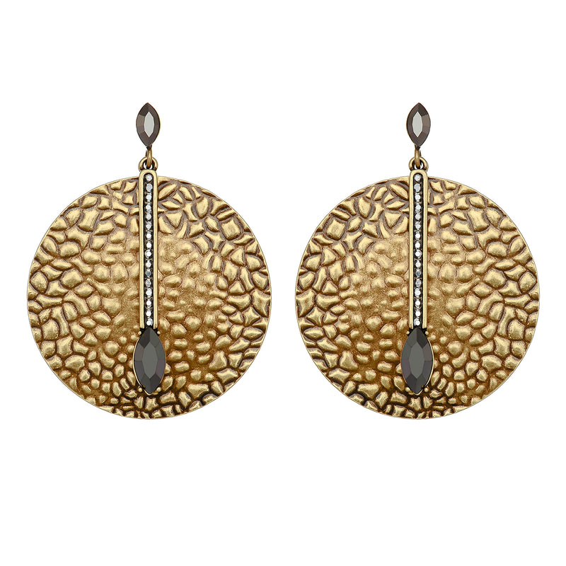 Bronze Two-Piece Earrings